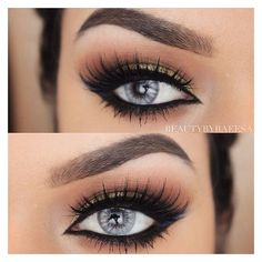 Winged Eyeliner ❤ liked on Polyvore featuring beauty products, makeup, eye…