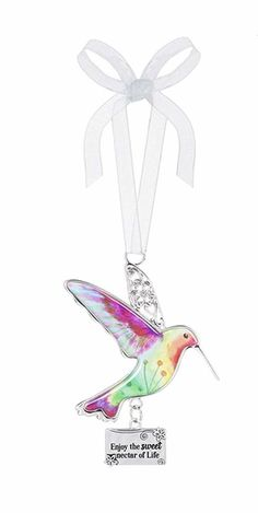 Hummingbird Ornament - Enjoy The Sweet Nectar Life Price $7.99 How To Make Ornaments, Hummingbirds
