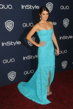 Nikki Reed at the InStyle and Warner Bros. Golden Globes after party. [Photo by Tyler Boye]