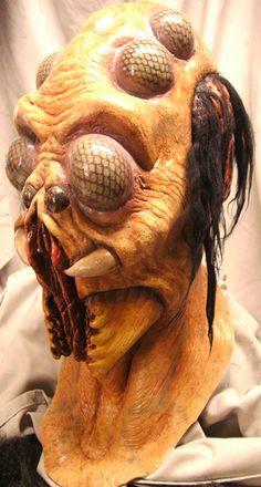 Halloween Mask Mad Scientist Bugman