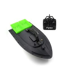 Flytec Fishing Tool Smart RC Bait Boat Toy Dual Motor Fish Finder Fish Boat Remote Control Fishing Boat Ship Boat hi Sea Fishing Tackle, Fishing Bait, Fishing Books, Fish Finder, Remote Control Toys, Boat, Ship, Green Beach