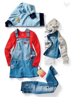 The only thing better than denim? More denim!