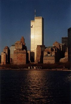 I was in New York in 1999 when the towers were still standing...