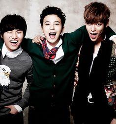 Daesung, GDragon and TOP - My three favorite Bigbang members