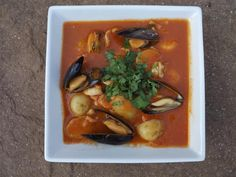 Spicy Seafood Stew With Tomatoes And Lime