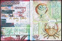 Creative **ART** Journal - Lots of inspiration on this blog