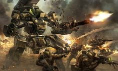 Sci-Fi Spacecraft Art   in concept art sci fi tags assault battlefield eliott lilly sci fi war ...