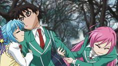Animated Gif by Kurumu Kurono L Anime, Fanarts Anime, Anime Characters, Anime Art, Zero No Tsukaima Manga, Rosario Vampire Moka, Gifs, Neon Genesis Evangelion, Anime Fantasy