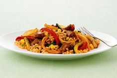 Porc à la mexicaine avec riz aux légumes | Qu'est-ce qui mijote de Kraft