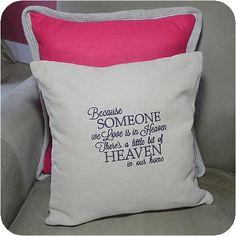 Cotton Burlap Pillow