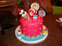 My birthday cake Inspired by Katy Perry & Candyland  http://www.dolcecupcakepr.com/