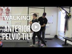 Walking and anterior pelvic tilt