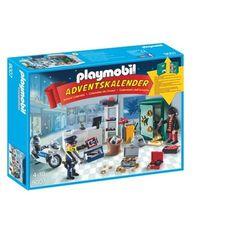 Playmobil 9007 Adventskalender op heterdaad betrapt
