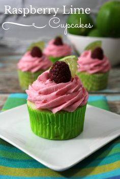 Looking for a delicious cupcake recipe with a twist? Check out his delicious Raspberry Lime Cupcake Recipe here! This yummy recipe isn't complicated and perfect for weekend chefs. Best of all, its super yummy!