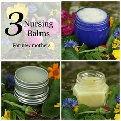 Three Nursing Balms for New Mothers