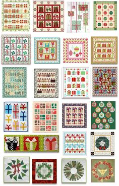 Quilt Inspiration: Free pattern day: Christmas 2015 (part 2)