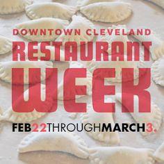 Downtown Cleveland Restaurant Week -- Pierogi Power