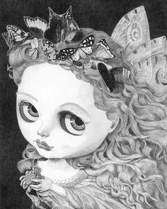 Portrait of a Blythe Fairy - by Thomas DePorter (Friend2Blythe)