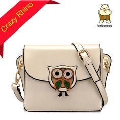Moda doce cor Cross Body Bags Owl suporte padrão tampa escola bolsas saco pequeno carteiras frete grátis(China (Mainland))