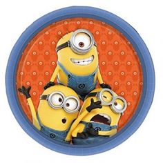 Shop Minions party supplies for a Despicable Me themed celebration. Find Minions decorations, invitations, party bags & more. Minion Party Supplies, Minion Party Theme, Minion Birthday, Party Themes, Minion Invitation, Carton Invitation, Despicable Me 2 Minions, My Minion, Party Plates