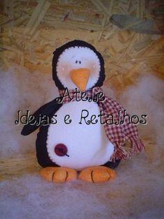 Aproveitando que o inverno está chegando... posto esse pinguizinho que é muito fofo, recebi por email há algum tempo já.     M...
