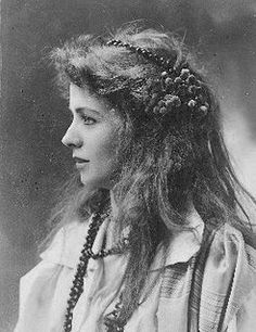 "Maude Adams (1872-1953), A famous American stage actress for ""Peter Pan"" . The movie ""Somewhere in Time"" was about her life and she is buried at the Cenacle of Lake Ronkonkoma NY. ~ETS #actresses"