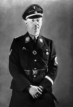 Heinrich Himmler ... a man without a single redeeming feature. Evil to the core.