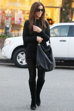 Kate Beckinsale and Marc by Marc Jacobs Classic Huge Hillier Hobo