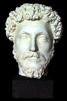 Roman Emperor Marcus Aurelius bust - Roman Emperors Collection - Roman and Etruscan - Civilization