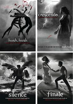 Hush, Hush Series by Becca Fitzpatrick (Finale Release Date October 23, 2012)