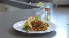 Vegetarische linzencurry (111) Chutney, Sandwiches, Tacos, Veggies, Mexican, Favorite Recipes, Cooking, Ethnic Recipes, Food