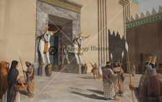 Persepolis, Gate of All Nations, 5th century BC @ Bible Illustrations, Biblical Sermon Illustrations, Christian Pictures