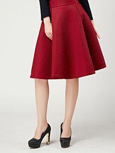 Navy Mesh Stripe Midi Skirt | New Look | Fashion | Pinterest ...