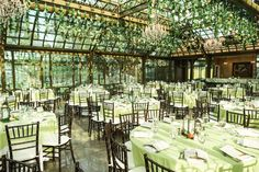 The Bryan Museum in Galveston features several wedding ceremony locations, including this glass-ceiling structure called The Conservatory. Photo: Ryan R Jones Photography/Ryan R Jones Photography, Ryanrj