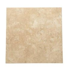 Daltile Travertine Durango 12 in. x 12 in. Natural Stone Floor and Wall Tile (10 sq. ft. / case) - T71412121U - The Home Depot