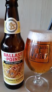 woom.one - Whisky Öl & Mat: Ballast Point - Pineapple Sculpin India Pale Ale