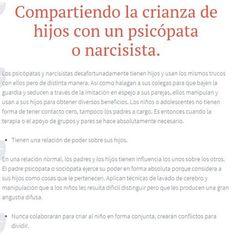 Padres #psicópatas #narcisistas y crianza compartida.#abuso emocional https://sobreviviendoapsicopatasynarcisistas.wordpress.com/2014/04/19/compartiendo-la-crianza-de-hijos-con-un-psicopata-o-narcisista/
