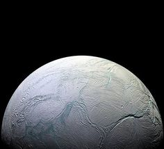 The active water world with a global body of water sloshing around deep below its icy crust we called Enceladus, just 1.2 billion km away. #solarsystem  Image Credit: NASA's Cassini Mission to Saturn @nasa @nasagoddard @nasajpl #nasa #science #picoftheday #moon #enceladus #science #space #explore #et #alienlife