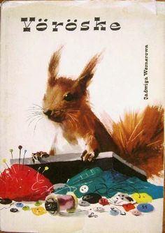 (Squirrel Redcoat) illustrated by Polish artist-Janus Grabianski