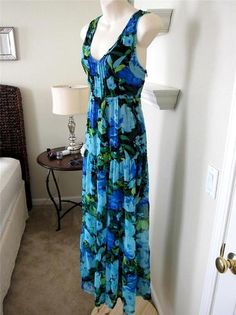 Sparkle Fade Urban Outfitters Maxi Dress Floral Sheer Romantic Indie Tiered S   eBay $39.99