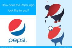 Worst logo designs #2 You would never look at Pepsi logo the same ever again. #logodesigns #magin