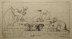 La pira funeraria di Ettore ( libro XXIV, 785)