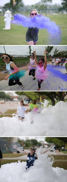 The Baylor Diadeloso annual Fun Run. This is so much fun!