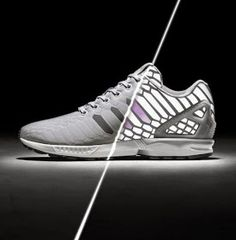 cd950ebd1 Adidas ZX Flux  Xeno  Black   Grey Sneakers Available Now (Images)