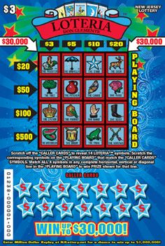 LOTERIA™: More Than $10.7 Million in Prizes Approximately 5.52 million LOTERIA™ tickets are initially planned in this game. Click on the image to learn more! Lotto Games, Off Game, Scratch Off, How To Plan, Learning, Image, Studying, Teaching