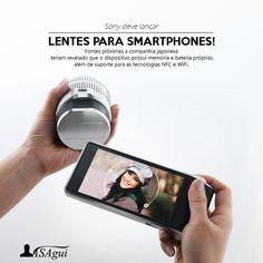 #rumor. Sony deve lançar lente para ser acoplada em seus smartphones.