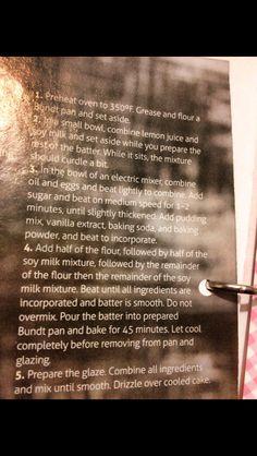 Vanilla bundt cake 2