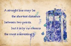 Einstein AND the TARDIS???  I don't think this could be any better.