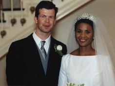 royalcorrespondent:  Wedding of HSH Prince Maximilian of Liechtenstein and Angela Brown, January 29, 2000, New York City