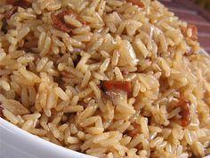 Cocina a lo Boricua: Arroz Consomme (es arroz con cebolla pero hecho con consomé )